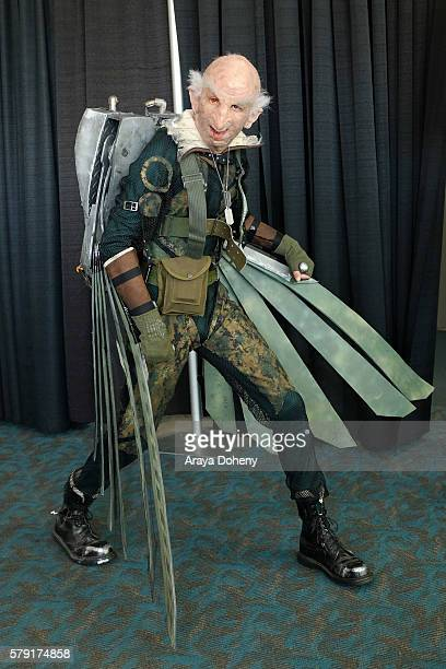 Costume Cosplay Attendee attends ComicCon International on July 20 2016 in San Diego California