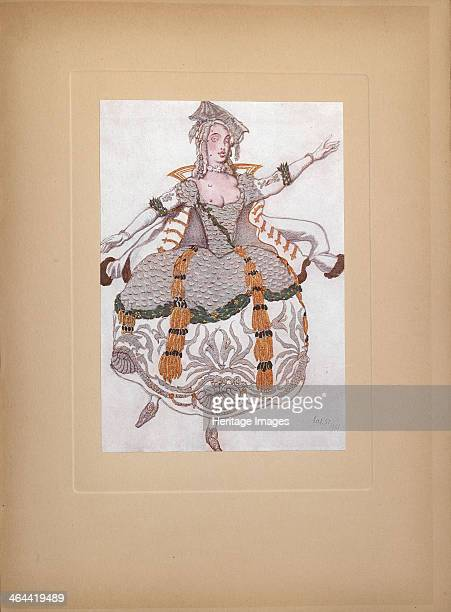 Costume design for the ballet Sleeping Beauty by P Tchaikovsky 1921 From a private collection