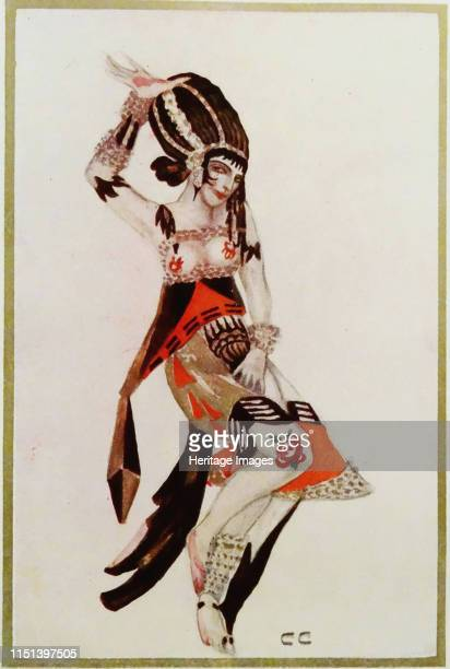Costume design for the Ballet The Tragedy of Salome by Florent Schmitt. Private Collection.