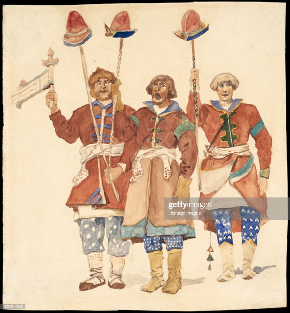 Costume Design For The Theatre Play Snow Maiden By Alexander News Photo Getty Images