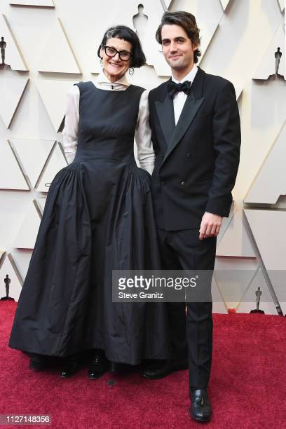 Costume designer Alexandra Byrne and guest attend the 91st Annual Academy Awards at Hollywood and Highland on February 24 2019 in Hollywood California