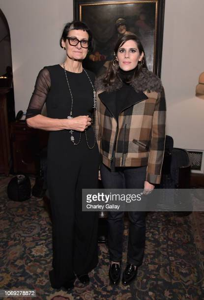 Costume designer Alexandra Byrne and Laura Mulleavy celebrate the new film Mary Queen of Scots with Vanity Fair and Focus Features at Chateau Marmont...