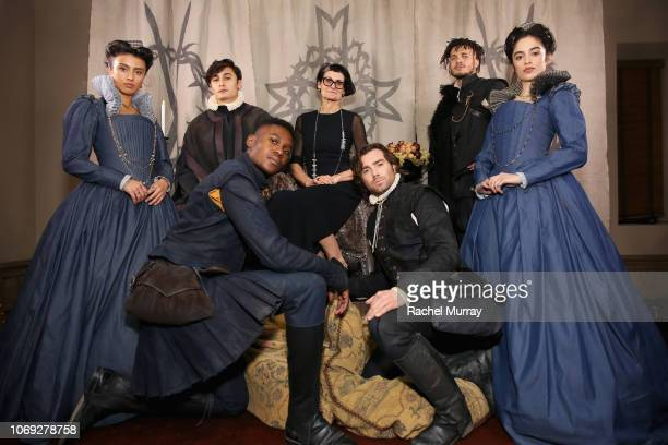 Costume designer Alexandra Byrne celebrates the new film Mary Queen of Scots with Vanity Fair and Focus Features at Chateau Marmont on December 6...