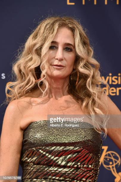 Costume designer Allyson B Fanger attends the 2018 Creative Arts Emmy Awards at Microsoft Theater on September 8 2018 in Los Angeles California