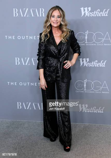 Costume designer Allyson B Fanger attends the Costume Designers Guild Awards at The Beverly Hilton Hotel on February 20 2018 in Beverly Hills...