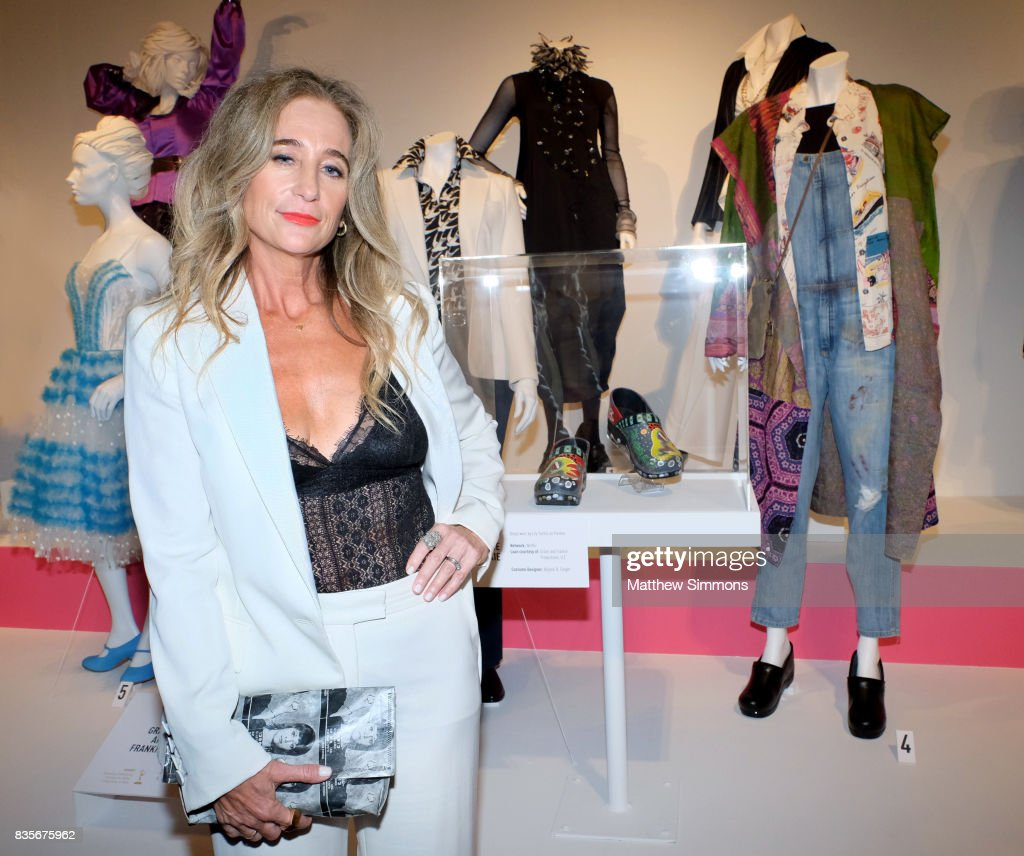 Costume designer Allyson B. Fanger of the Emmy nominated show 'Grace and Frankie' attends the media preview of the 11th annual 'Art of Television Costume Design' exhibition at FIDM Museum & Galleries on the Park on August 19, 2017 in Los Angeles, California.