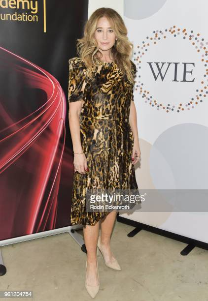 Costume designer Allyson Fanger poses for portrait at the Women in Entertainment and The Television Academy Foundation's Inaugural Women in...