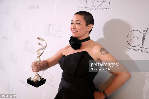 Costume designer Ane Crabtree attends the Costume Designers Guild Awards at The Beverly Hilton Hotel on February 20 2018 in Beverly Hills California