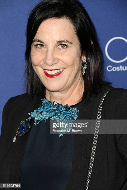 Costume designer Arianne Phillips attends the 18th Costume Designers Guild Awards with Presenting Sponsor LACOSTE at The Beverly Hilton Hotel on...