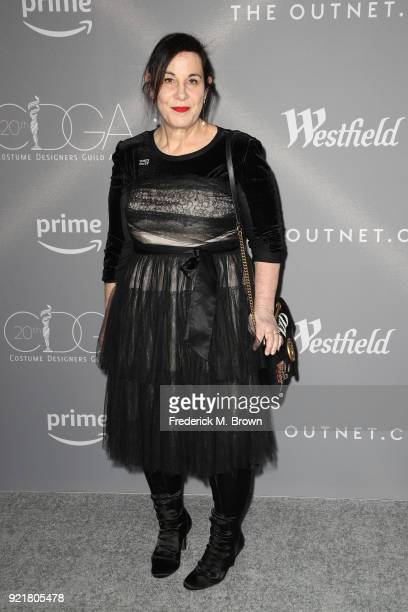 Costume designer Arianne Phillips attends the Costume Designers Guild Awards at The Beverly Hilton Hotel on February 20 2018 in Beverly Hills...