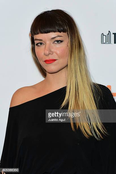 Costume Designer Becca Blackwood attends the 'Those Who Make Revolution Halfway Only Dig Their Own Graves' Premiere held at Winter Garden Theatre on...