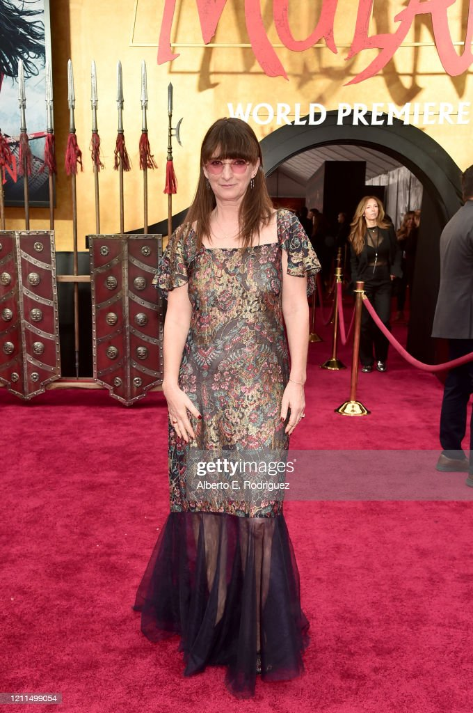 Costume Designer Bina Daigeler Attends The World Premiere Of Disney S News Photo Getty Images