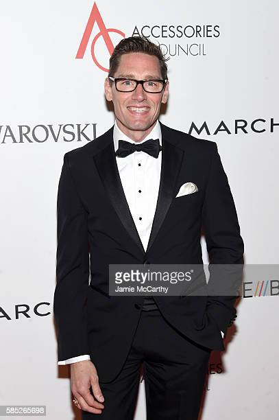 Costume designer Daniel Lawson attends the Accessories Council 20th Anniversary celebration of the ACE awards at Cipriani 42nd Street on August 2...