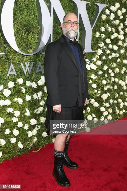 Costume designer David Zinn attends the 2017 Tony Awards at Radio City Music Hall on June 11 2017 in New York City