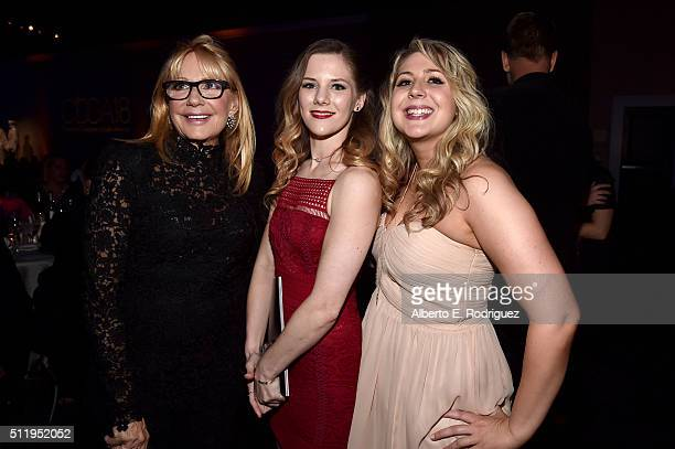 Costume designer Ellen Mirojnick and guests attend the 18th Costume Designers Guild Awards with Presenting Sponsor LACOSTE at The Beverly Hilton...