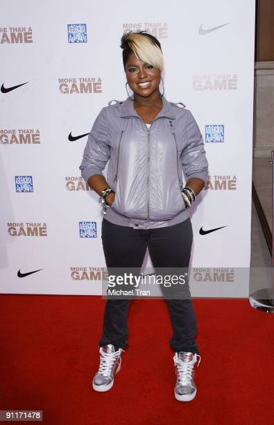 Costume designer Ester Dean arrives to the Los Angeles premiere of More Than A Game held at Pacific Theaters at the Grove on September 26 2009 in Los...