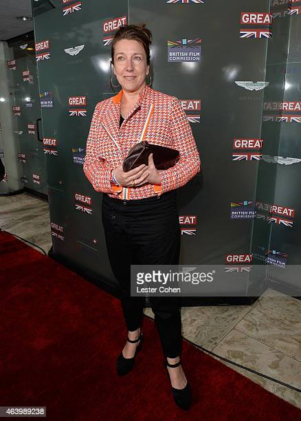 Costume designer Jacqueline Durran attends the GREAT British film reception honoring the British nominees of the 87th Annual Academy Awards at The...