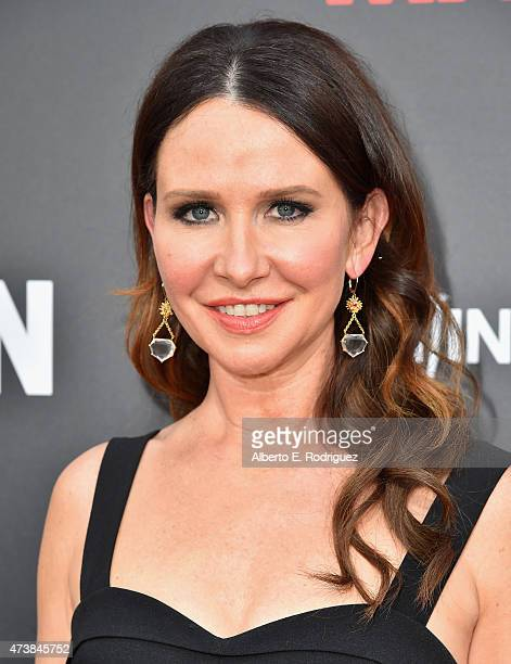 Costume designer Janie Bryant attends AMC Film Independent and Lionsgate Present 'Mad Men' Live Read at The Theatre at Ace Hotel Downtown LA on May...
