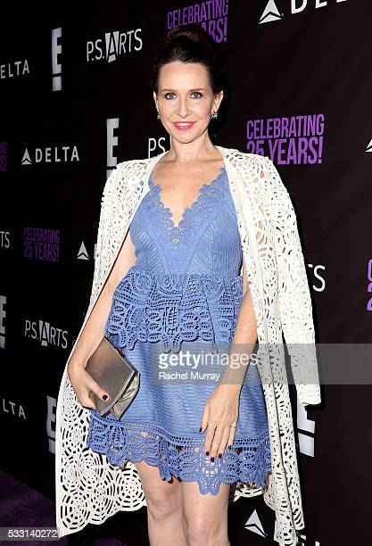 Costume designer Janie Bryant attends the pARTy celebrating 25 years of PS ARTS on May 20 2016 in Los Angeles California