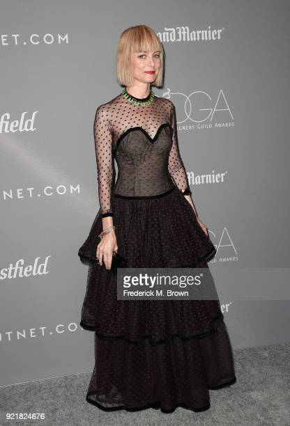 Costume designer Jennifer Johnson attends the Costume Designers Guild Awards at The Beverly Hilton Hotel on February 20 2018 in Beverly Hills...
