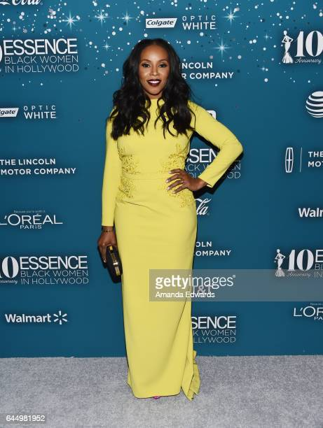 Costume designer June Ambrose arrives at the Essence 10th Annual Black Women in Hollywood Awards Gala at the Beverly Wilshire Four Seasons Hotel on...
