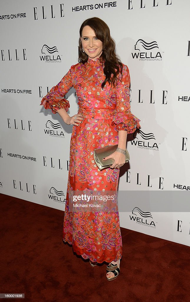 Costume Designer Katherine Jane Bryant attends the ELLE's Women in Television Celebration at Soho House on January 24, 2013 in West Hollywood, California.