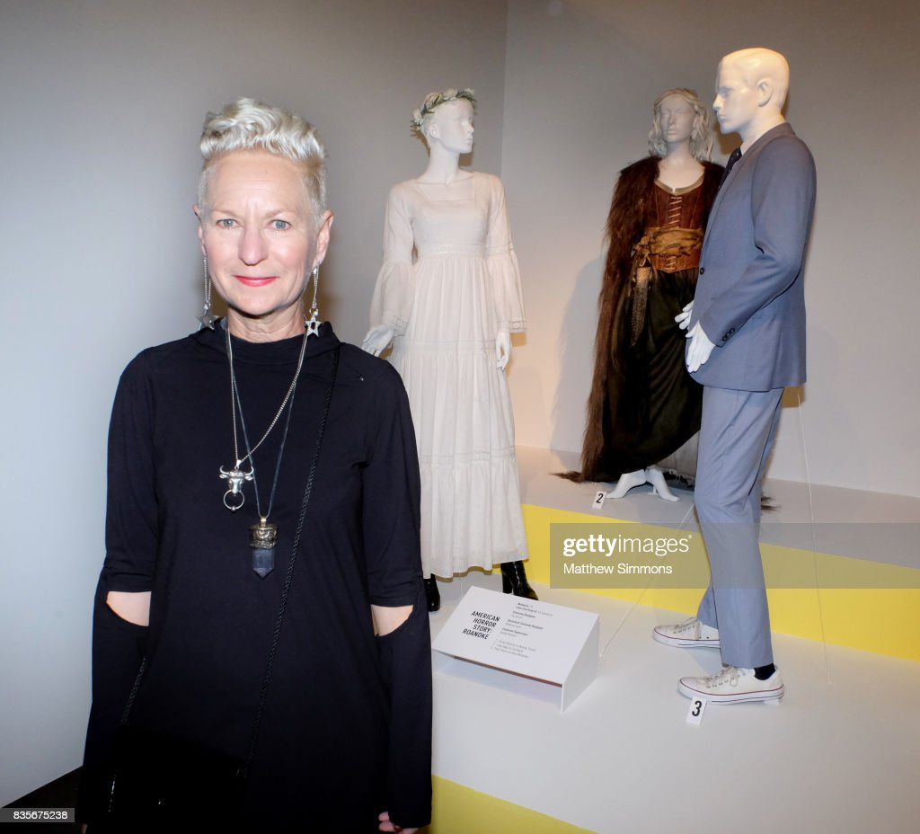Costume designer Lou Eyrich of 'American Horror Story: Roanoke ' attends the media preview of the 11th annual 'Art of Television Costume Design' exhibition at FIDM Museum & Galleries on the Park on August 19, 2017 in Los Angeles, California.