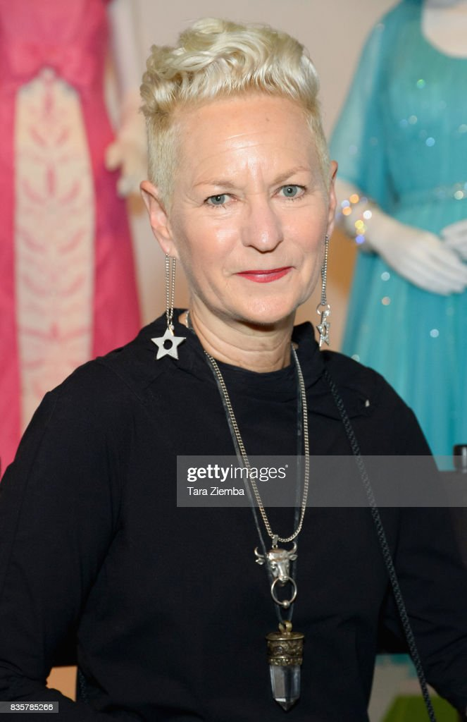 Costume designer Lou Eyrich of the Emmy nominated show 'FEUD: Bette and Joan' attends the media preview of the 11th annual 'Art Of Television Costume Design' exhibition at FIDM Museum & Galleries on the Park on August 19, 2017 in Los Angeles, California.