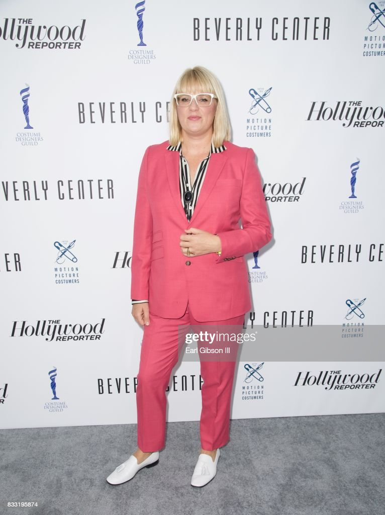 Costume Designer Marie Schley attends the Beverly Center And The Hollywood Reporter Present: Candidly Costumes at The Beverly Center on August 16, 2017 in Los Angeles, California.
