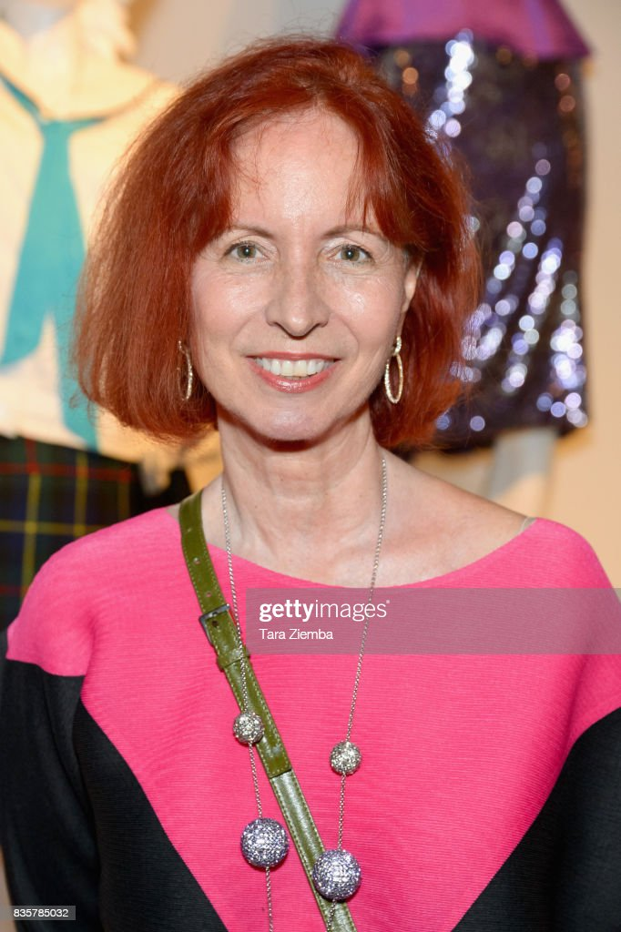 Costume designer Mary Vogt of the Emmy nominated show 'Hairspray Live!' attends the media preview of the 11th annual 'Art Of Television Costume Design' exhibition at FIDM Museum & Galleries on the Park on August 19, 2017 in Los Angeles, California.