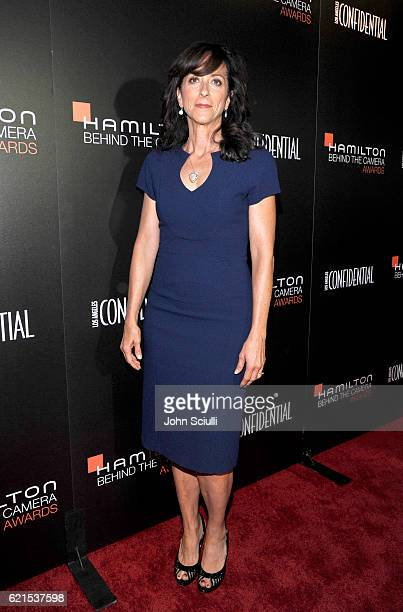 Costume designer Mary Zophres attends the Hamilton Behind The Camera Awards presented by Los Angeles Confidential Magazine at Exchange LA on November...