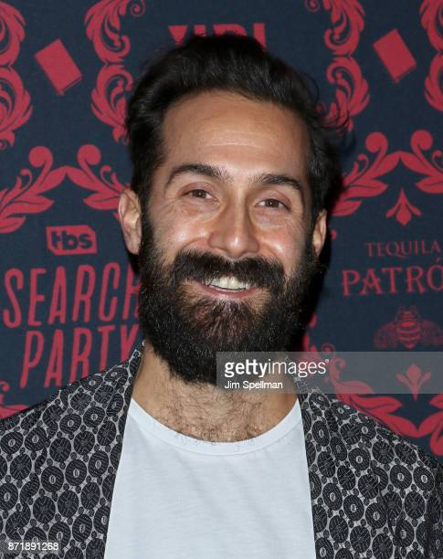 Costume designer Matthew Simonelli attends the season 2 premiere of 'Search Party' hosted by TBS at Public Arts at Public on November 8 2017 in New...