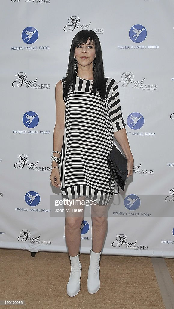 Costume Designer Mila Hermanovski attends the 17th Annual Angel Awards at Project Angel Food on August 18, 2012 in Los Angeles, California.