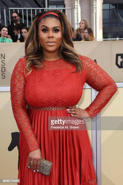Costume designer Nina Parker attends the 24th Annual Screen Actors Guild Awards at The Shrine Auditorium on January 21 2018 in Los Angeles California...