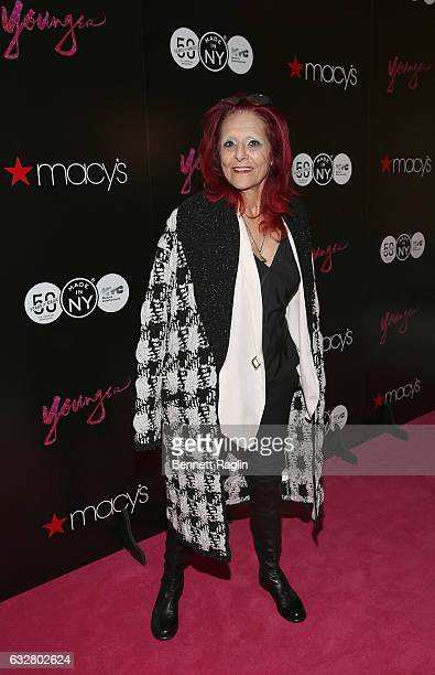Costume designer Patricia Field attends the Macy's CelebratesThe 50th Anniversary Of The Mayor's Office Of Media And Entertainment at Macy's Herald...