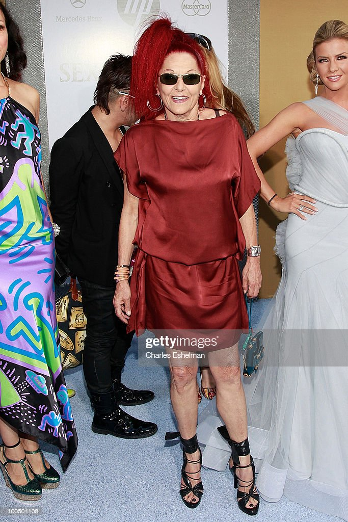 Costume designer Patricia Field attends the premiere of 'Sex and the City 2' at Radio City Music Hall on May 24, 2010 in New York City.
