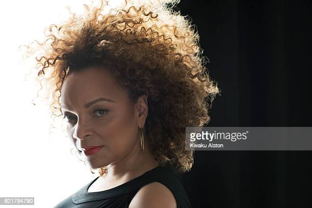 Costume designer Ruth Carter is photographed for Essence Magazine on January 15, 2015 in Los Angeles, California.