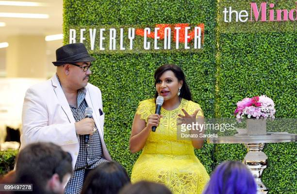 Costume designer Salvador Perez and actor Mindy Kaling entertain Beverly Center shoppers with a special discussion on the fashion and design behind...