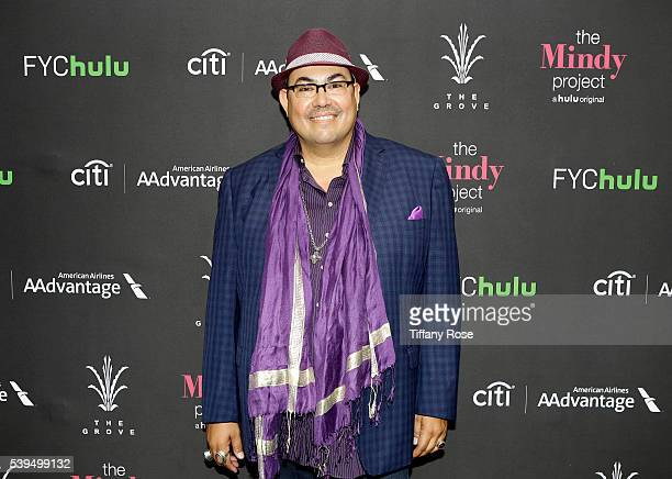 Costume designer Salvador Perez attends 'The Mindy Project' Style presented by Citi/AAdvantage at The Grove on June 11 2016 in Los Angeles California