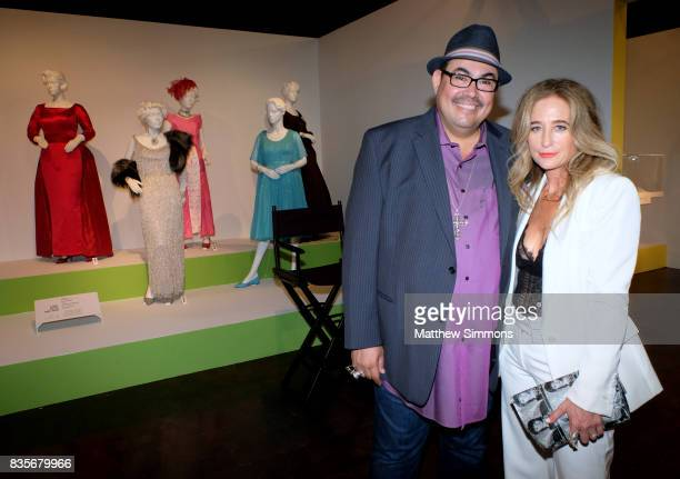 Costume designer Salvador Perez of 'The Mindy Project' and costume designer Allyson B Fanger of the Emmy nominated show 'Grace and Frankie' attends...