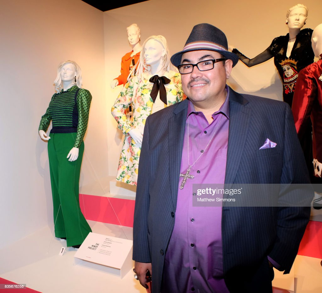 Costume designer Salvador Perez of the show 'The Mindy Project' attends the media preview of the 11th annual 'Art of Television Costume Design' exhibition at FIDM Museum & Galleries on the Park on August 19, 2017 in Los Angeles, California.