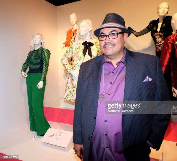 Costume designer Salvador Perez of the show 'The Mindy Project' attends the media preview of the 11th annual 'Art of Television Costume Design'...