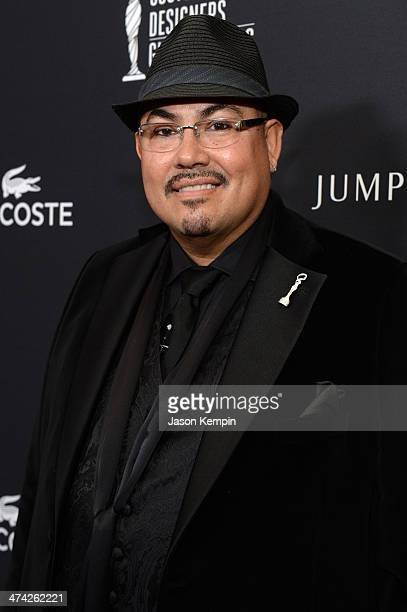 Costume designer Salvador Pérez Jr attends the 16th Costume Designers Guild Awards with presenting sponsor Lacoste at The Beverly Hilton Hotel on...