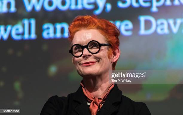 Costume Designer Sandy Powell attends a QA to mark the 25th anniversary of The Crying Game at BFI Southbank on February 15 2017 in London United...