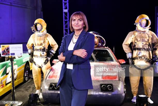Costume designer Sonya Hayes poses for a portrait at the F9 Fest event on the Universal Studios backlot celebrating F9: The Fast Saga on September...