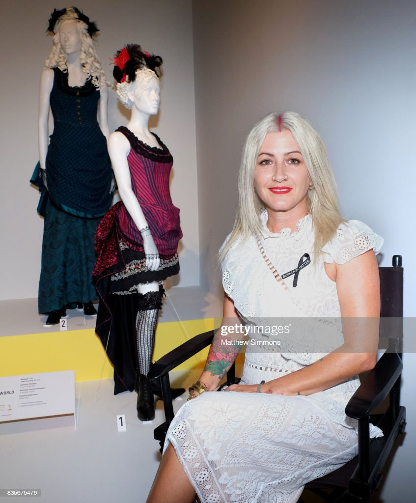 Costume designer Trish Summerville of the Emmy nominated show 'Westworld' attends the media preview of the 11th annual 'Art of Television Costume Design' exhibition at FIDM Museum & Galleries on the Park on August 19, 2017 in Los Angeles, California.