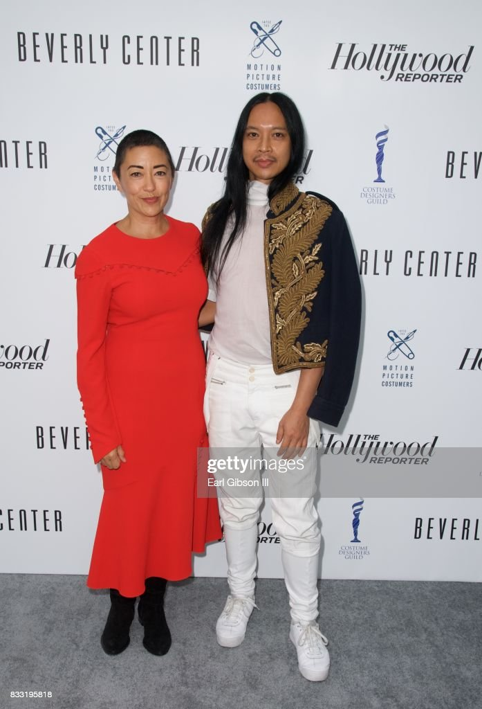 Costume Designers (L-R) Ane Crabtree and Zaldo Goco attend the Beverly Center And The Hollywood Reporter Present:Candidly Costumes at The Beverly Center on August 16, 2017 in Los Angeles, California.