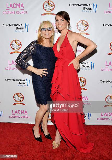 Costume designers Ellen Mirojnick and Janie Bryant arrive at The Costume Council Of LACMA Celebrates The Western Costume Company The First 100 Years...