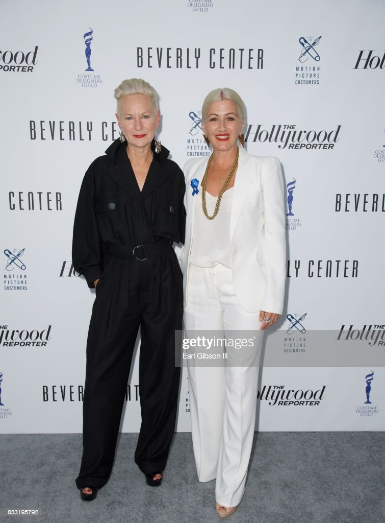 Costume Designers Lou Tyrich and Trish Summerville attend the Beverly Center And The Hollywood Reporter Present: Candidly Costumes at The Beverly Center on August 16, 2017 in Los Angeles, California.