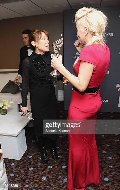 Costume designers Marlene Stewart and Trish Summerville attend the 14th Annual Costume Designers Guild Awards With Presenting Sponsor Lacoste held at...